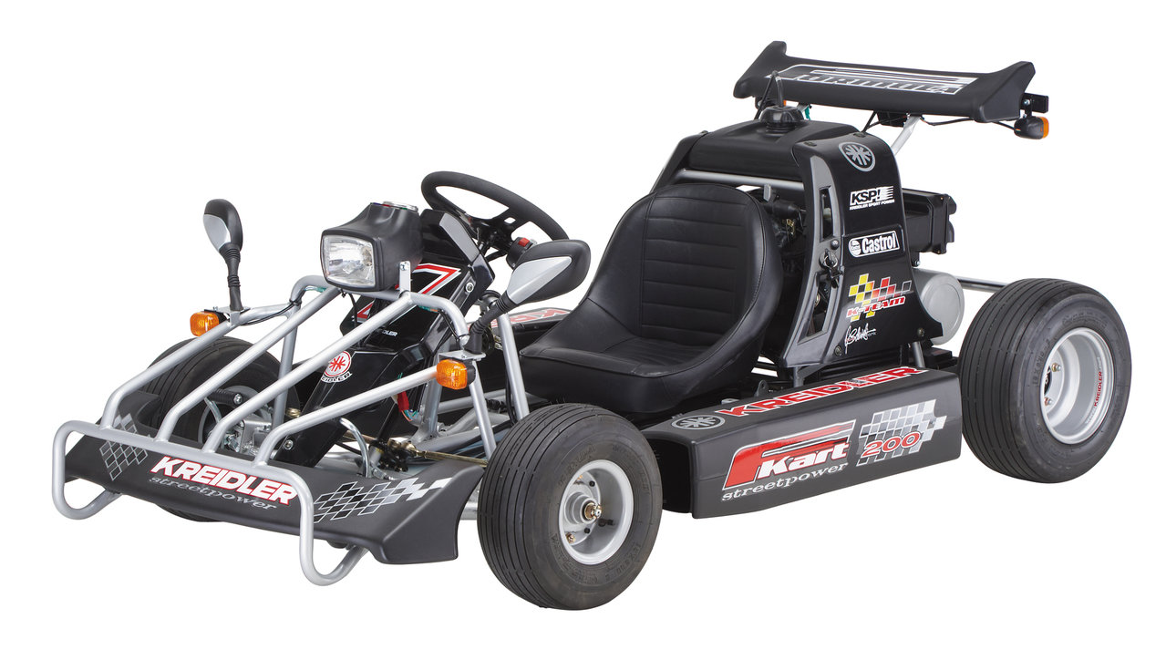 kreidler f kart mit smc motor 170ccm mit stra enzulassung. Black Bedroom Furniture Sets. Home Design Ideas